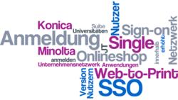 Single Sign-on im Web-to-Print-Portal