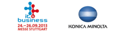 Konica Minolta at the trade fair IT & Services
