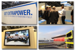 Fotos von der IPEX 2014: Workflow Automation, Messegelände, Demo-Crew-Gruppenbild