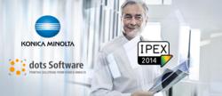 dots Software & Konica Minolta auf der IPEX 2014