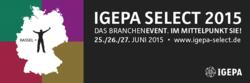 Die Igepa Select 2015 findet vom 25.-27.06. in Kassel statt