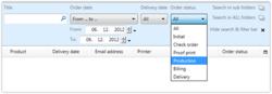 Add-on: Erweitertes Suchen & Filtern in Printgroove JT Man 5
