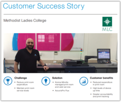 Success Story: Methodist Ladies' College