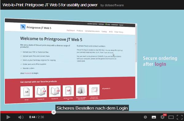 dots Produktvideo mit deutschen Untertiteln (JT Compile)
