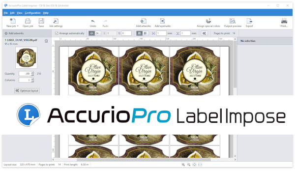 Now available: Service release for AccurioPro Label Impose
