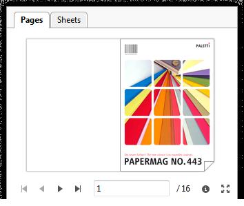 Capture d'écran: Fenêtre d'aperçu dans la liste de commandes