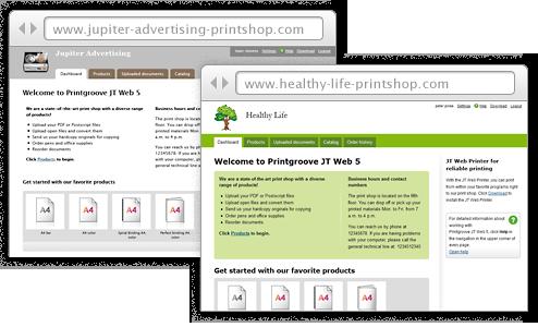 Individuell gestaltete Onlineshops für Ihre Kundengruppen
